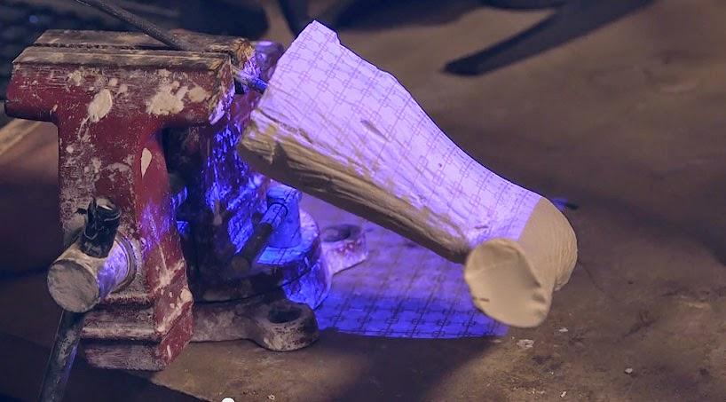 prótesis para perro hecha con avanzada tecnología impresión 3D