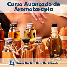 Curso Online de Aromaterapia - Óleos essenciais e Óleos Vegetais