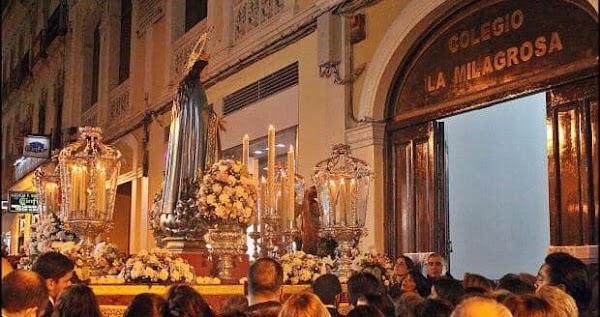 La Milagrosa suspende la procesión de la Virgen
