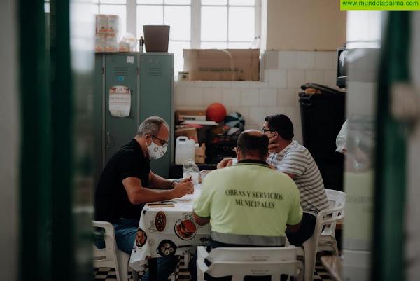 El Ayuntamiento de Santa Cruz de La Palma trabaja en las medidas que se aplicarán para la celebración más segura del Día de los Difuntos
