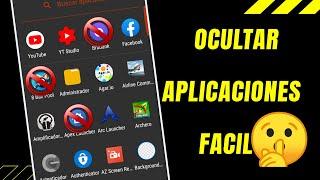 Cómo Ocultar Aplicaciones y Juegos en Android Fácil