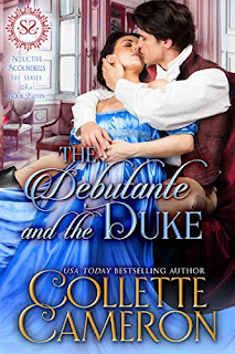 The Debutante and the Duke - Historical Romance book promotion sites by Collette Cameron
