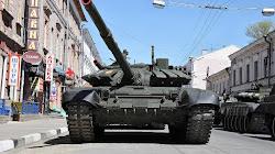 Đội hình Xe tank Nga gần biên giới với Ukraine đã nhận được loại xe T-72B3 mới