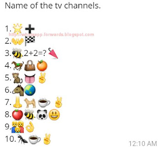 Name of the TV Channels Whatsapp Quiz