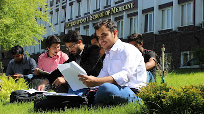 International School of Medicine ISM Kyrgyzstan.