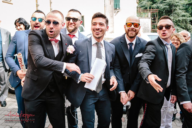 amici sposi matrimonio Genova