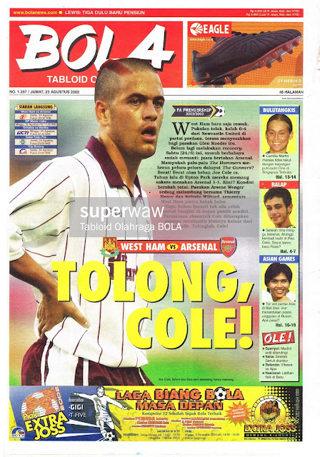 TABLOID BOLA: TOLONG, COLE!