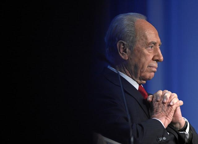 Ex-presidente judeu Shimon Peres está hospitalizado e pode não passar de hoje