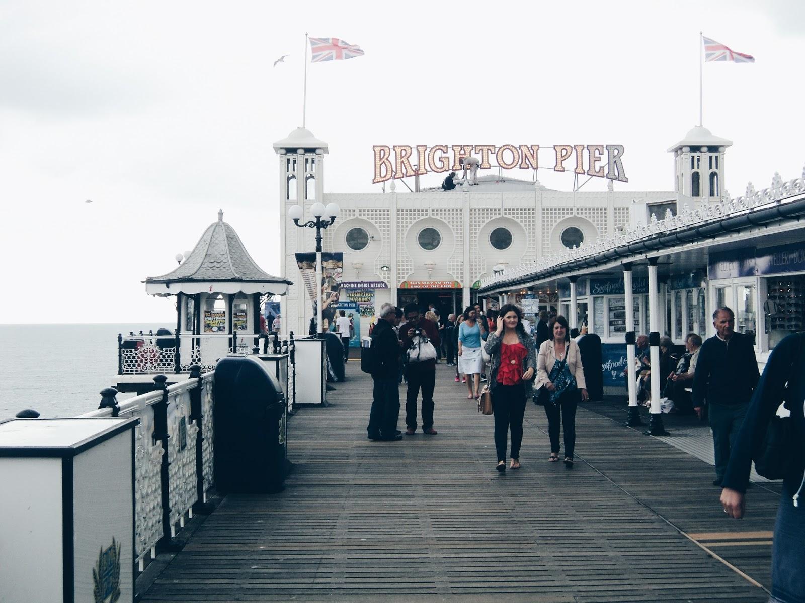 C A R I S S A L A M: Day Trip to Brighton