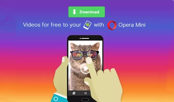download videos with the new opera mini for android