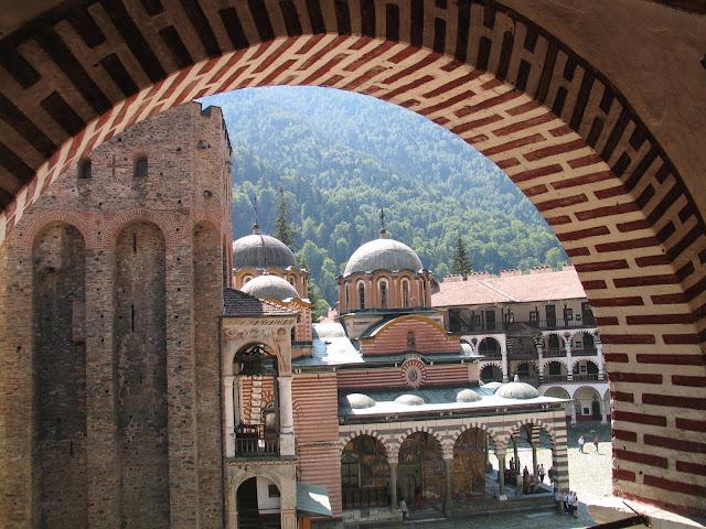 Rila Monastery church