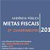 Prefeitura de Registro-SP realiza audiência pública sobre metas fiscais no dia 30