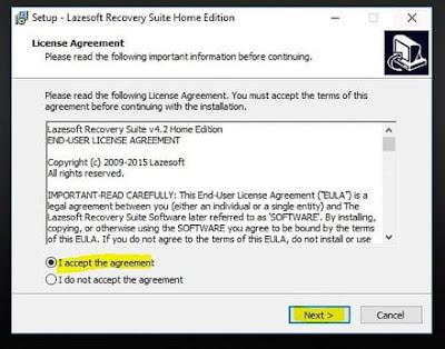 - تحميل وتثبيت برنامج Lazesoft