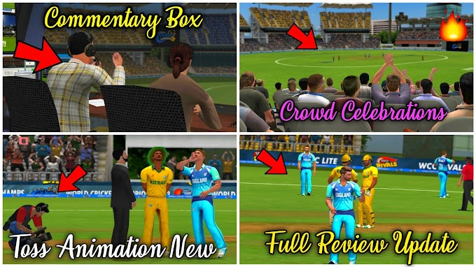 Wcc3 New Upadte Version 1.3 Full Review | Commentry Box, Croud Celebration , New Toss Animation