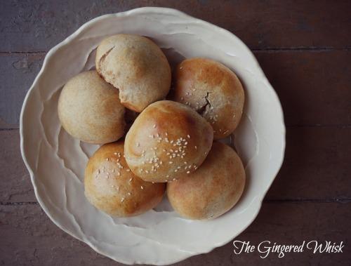 Homemade Hamburger Buns - The Gingered Whisk