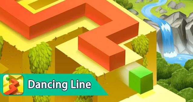 Dancing Line - أفضل ألعاب أندرويد و أيفون 2020 بدون أنترنت: أحسن 20 لعبة فيديو تعمل أوفلاين بدون نت.
