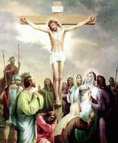 Dibujo de la muerte de Jesús