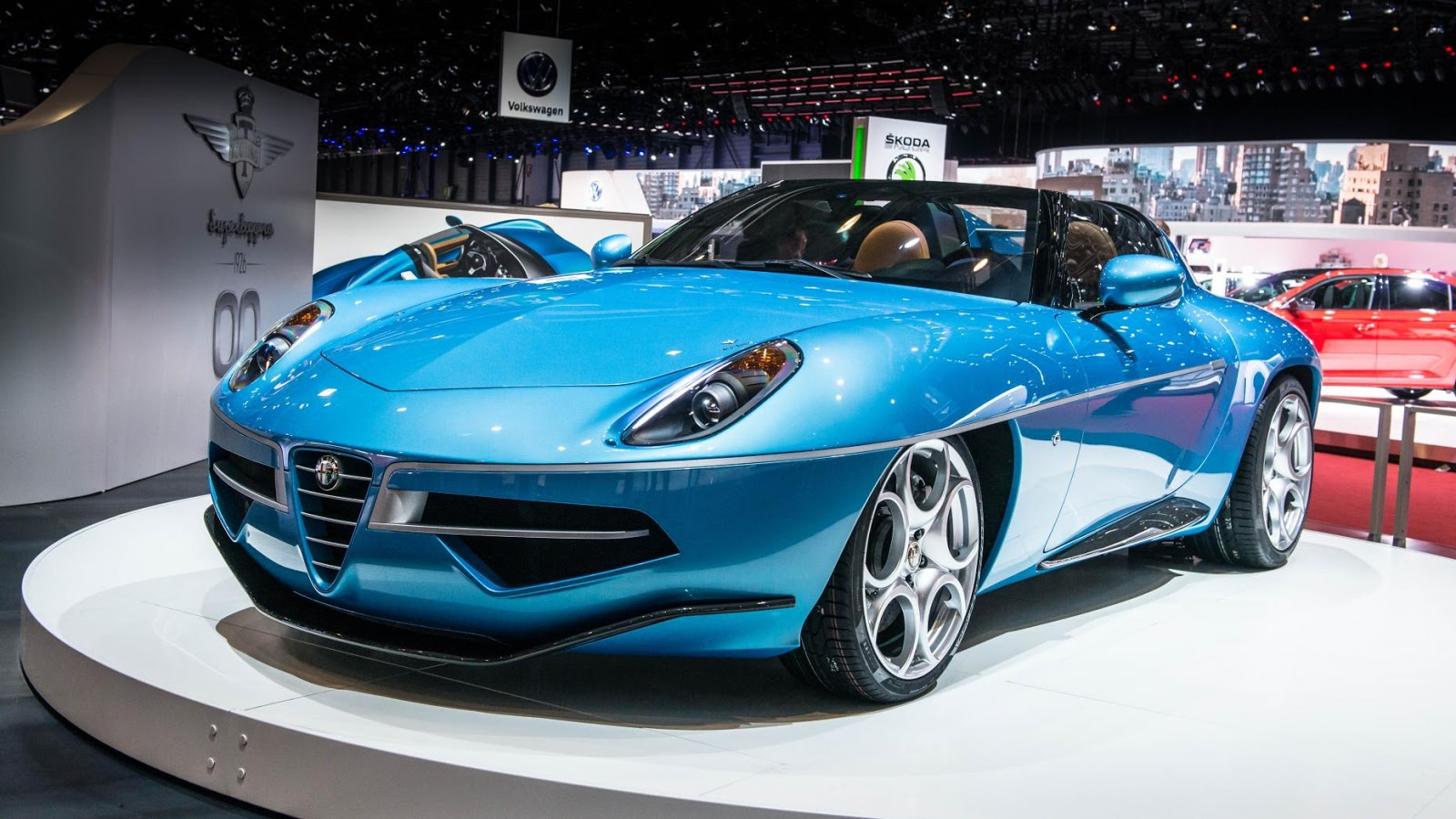 Alfa Disco Volante Spyder
