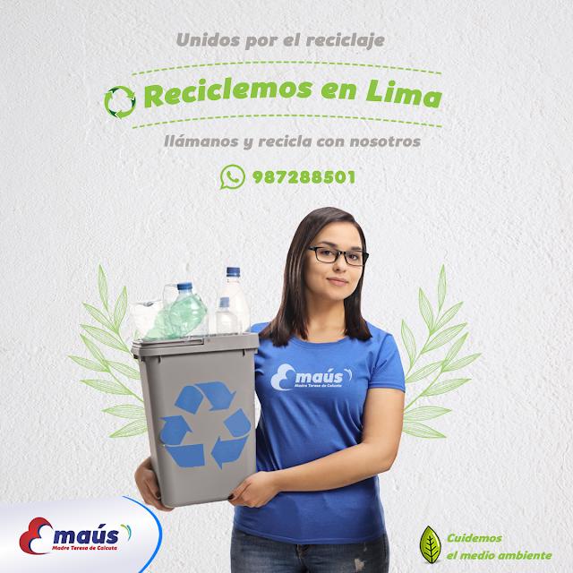 Reciclaje en Lima, reciclemos unidos