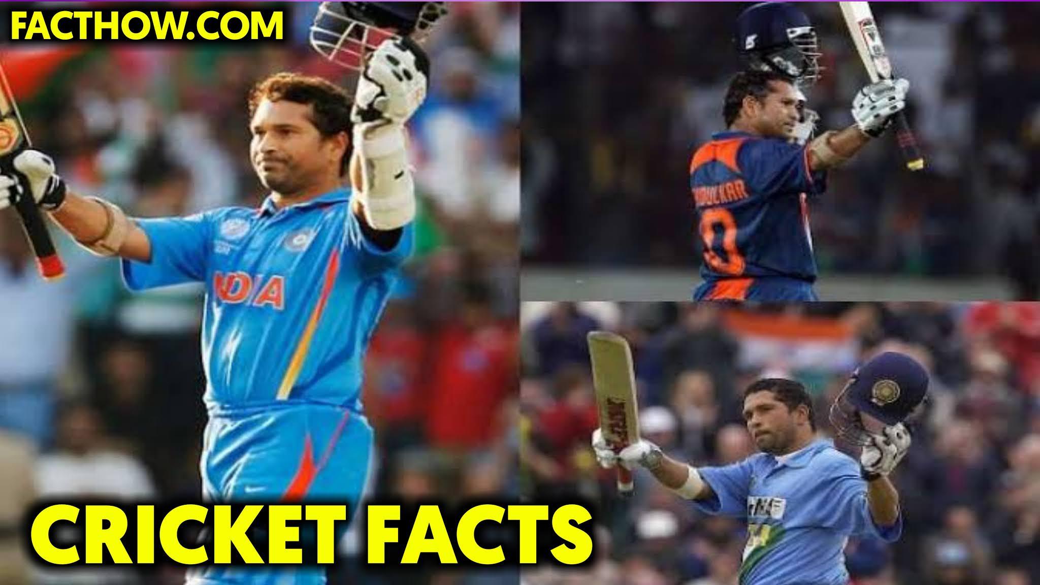 Sachin tendulkar facts and records