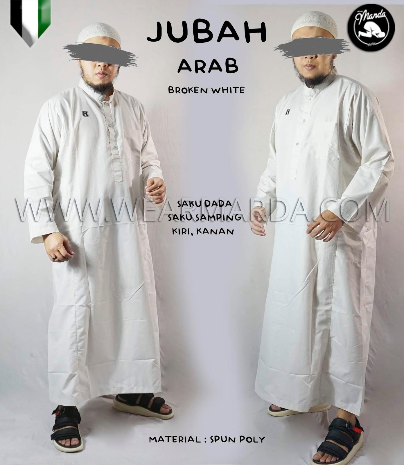 JUBAH ARAB BROKEN WHITE