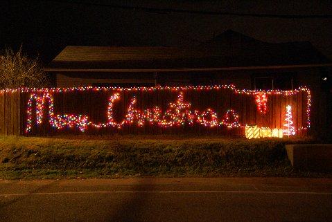 Shoreline Area News Christmas Lights On The Fence