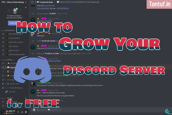 How to grow your Discord Server for FREE