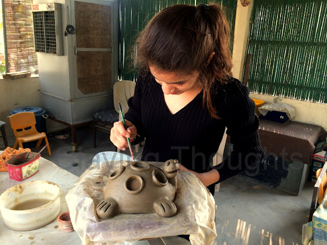 Clay Model Project for Interior Designing Students
