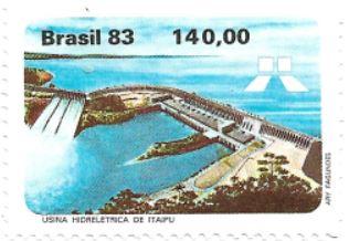 Selo Usina Hidrelétrica de Itaipu
