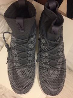 Nike Free Mercurial Superfly Black Grey Running Premium, Sepatu running murah , Sepatu running Import, Sepatu running Premium