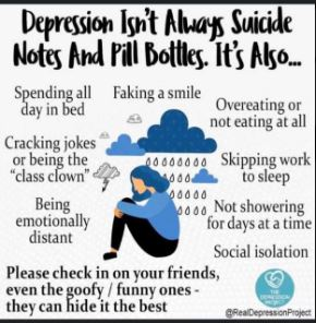 penyebab depresi, tanda depresi, kesan depresi, kawal depresi