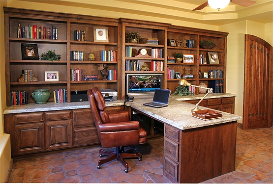 Design layout of kitchen cabinets