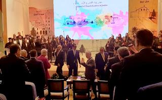 الملك يلتقي رؤساء الكنائس في الأردن والقدس وشخصيات مسيحية