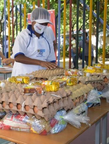 PAE del Distrito toma acciones   inmediatas para evitar inconvenientes   en la entrega de alimentos