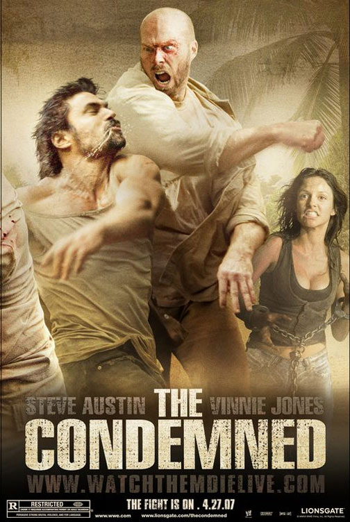The Condemned 2007 Dual Audio Hindi 350MB BluRay 480p Free Download
