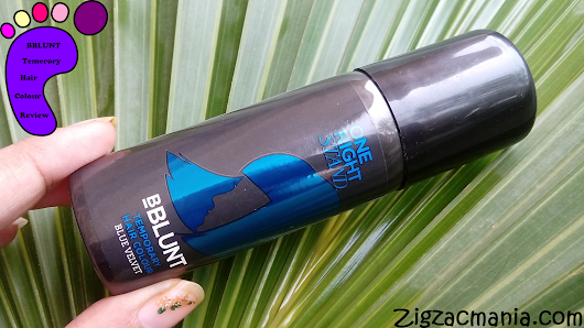BBLUNT One Night Stand Temporary Hair Color (Blue Velvet) Review