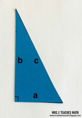 A Pythagorean Theorem Proof Without Words | mrseteachesmath.blogspot.com