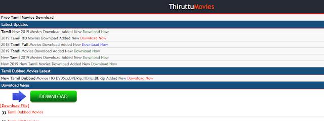 Thiruttumovies - 300mb movie Downloading Website & New Url Link