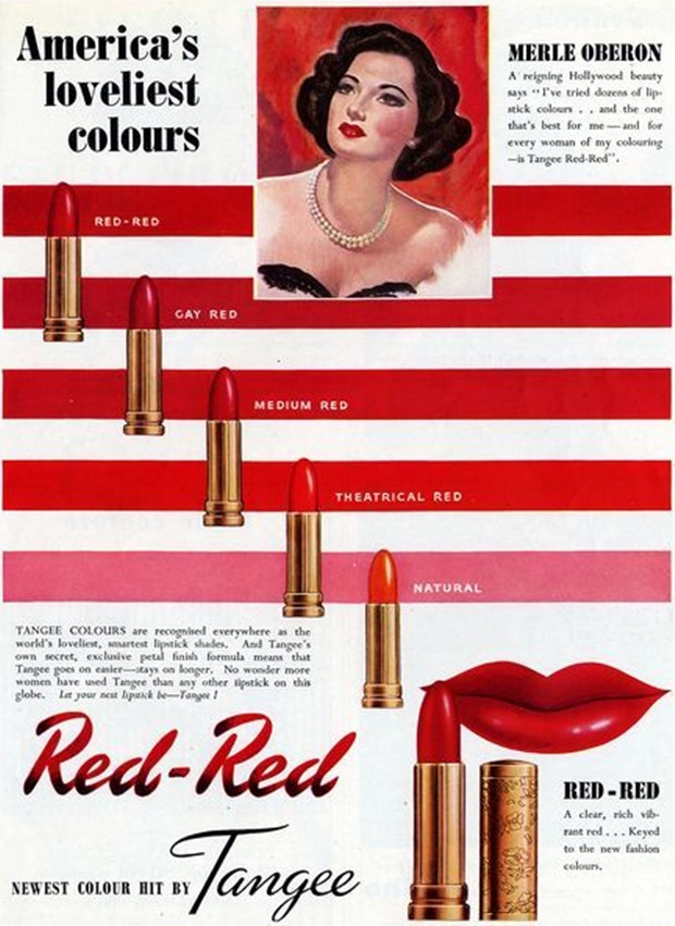 Anúncios vintage de maquiagem, anúncios vintage, publicidade vintage, vintage, vintage makeup ad, vintage ad, história da maquiagem, maquiagem no decorrer das décadas, anúncios de maquiagem dos anos 40