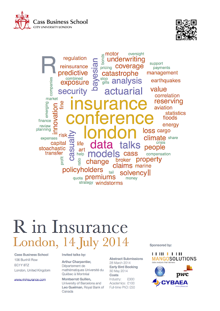 R in Insurance 2014 Conference Poster