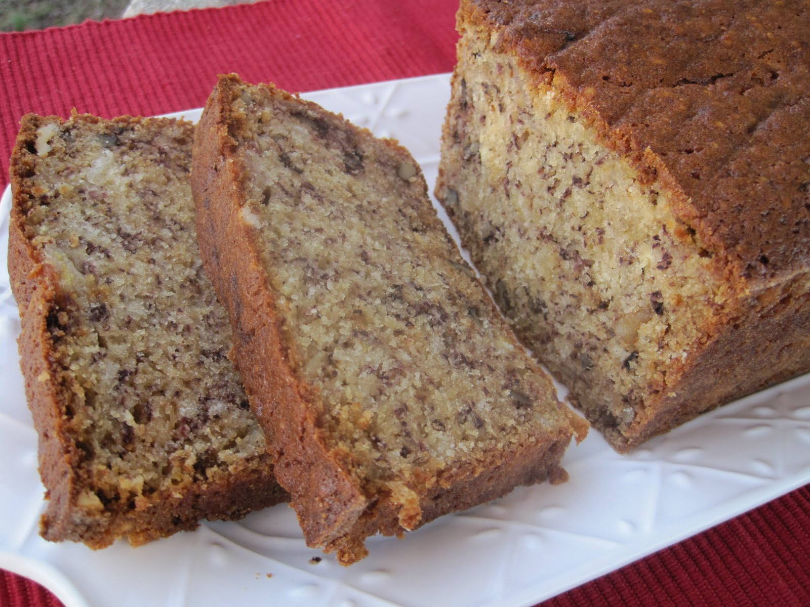 Lynda S Recipe Box Very Moist Bannana Bread With Walnuts