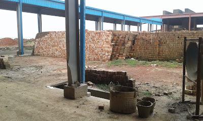 Auto bricks fired in HHK in Bangladesh