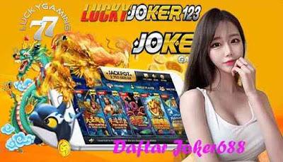 Daftar Joker688 Main & Dapatkan Jackpot Terbesar Situs LuckyJoker123