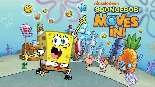 Game Spongebob Moves In