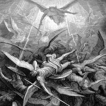 demons and angels fighting - photo #10
