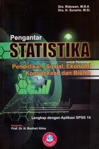 Pengantar Statistika untuk Penelitian Pendidikan,Sosial, Eko