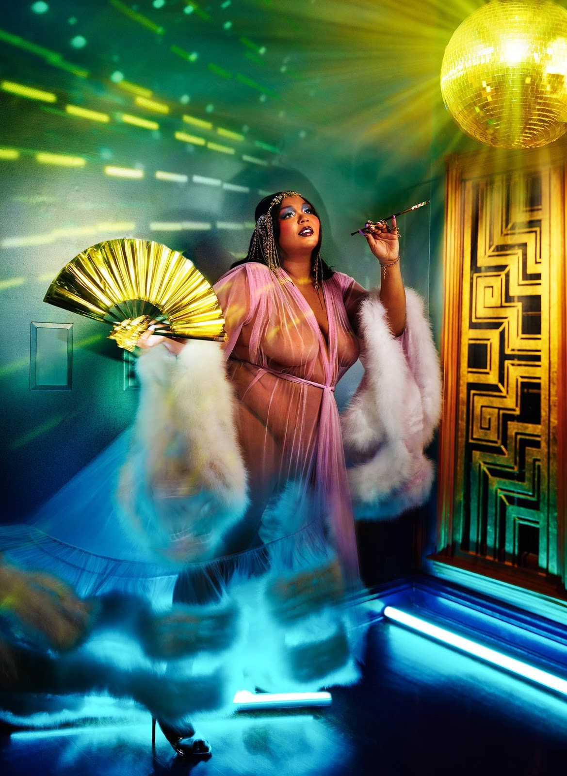 Lizzo goes nude and bold for Rolling Stone February 2020