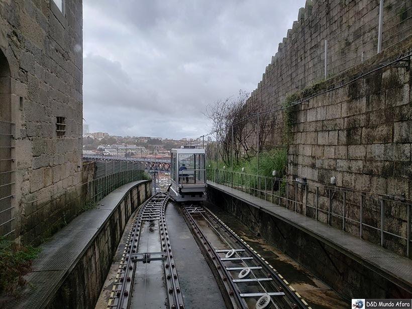 Funicular dos Guindais - O que fazer no Porto, Portugal