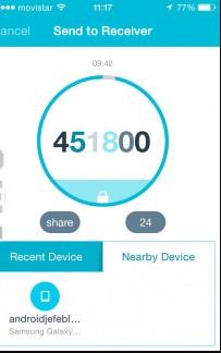 Transferir archivos entre iPhone y Android