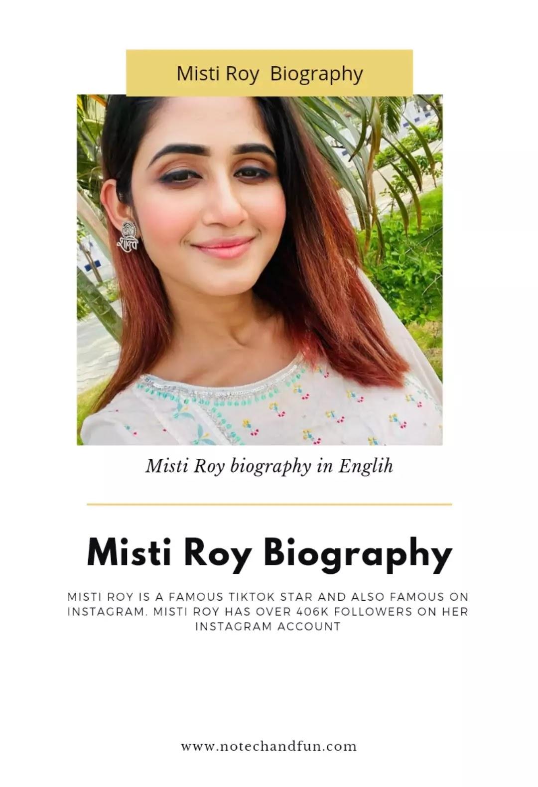 Misti Roy biography